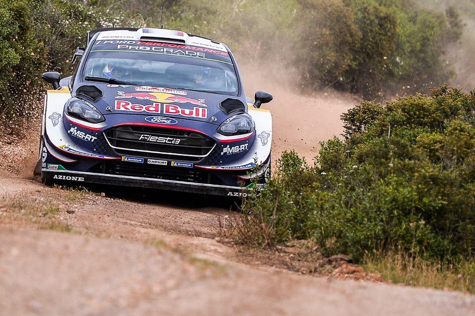 WRC 2018- 07. Rally Sardinia- leg1- O Ogier ξεχωρίζει στη λάσπη!