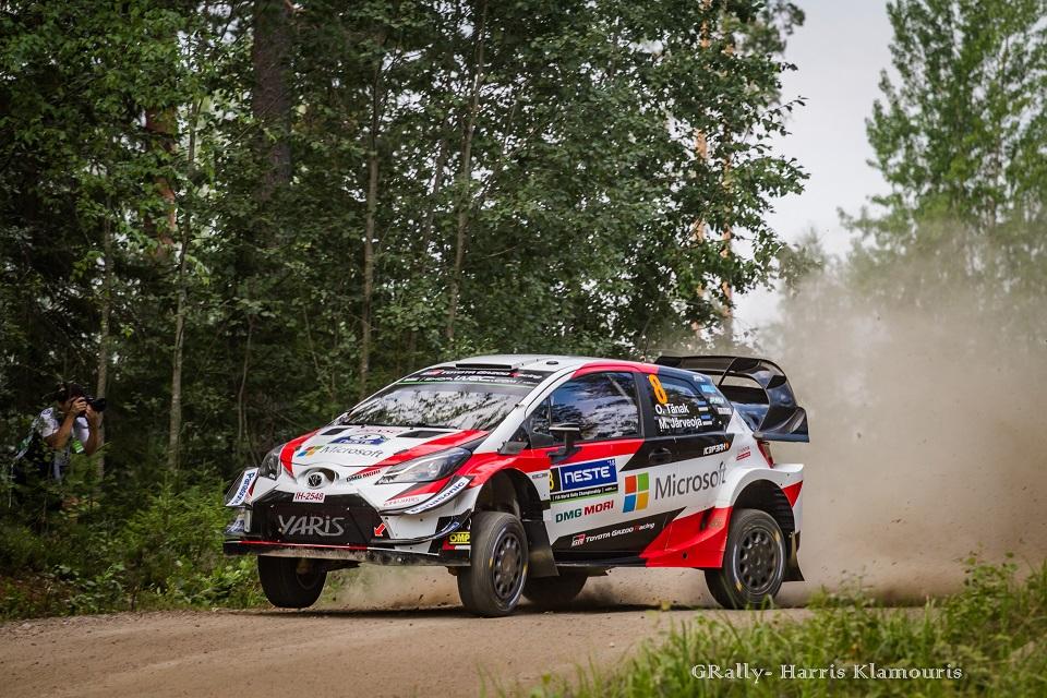 WRC 2018- 08. Rally Finland- day1- Πιο δυνατός ο Tanak!
