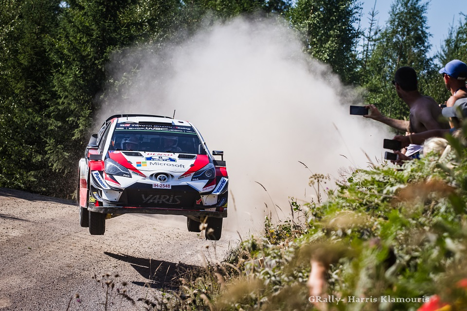 WRC 2018- 08. Rally Finland- day2- Η μέρα της Toyota!
