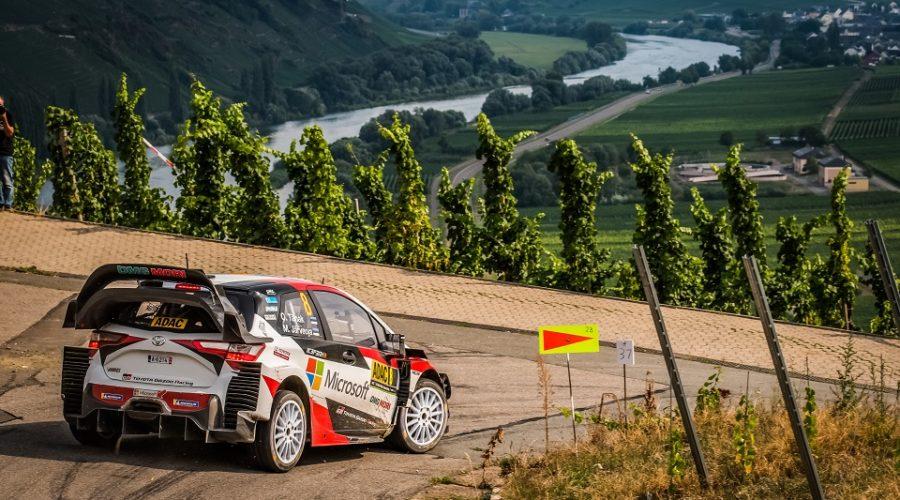 WRC 2018- 09. Rally Deutschland- leg1- Ένα βήμα μπροστά ο Tanak!