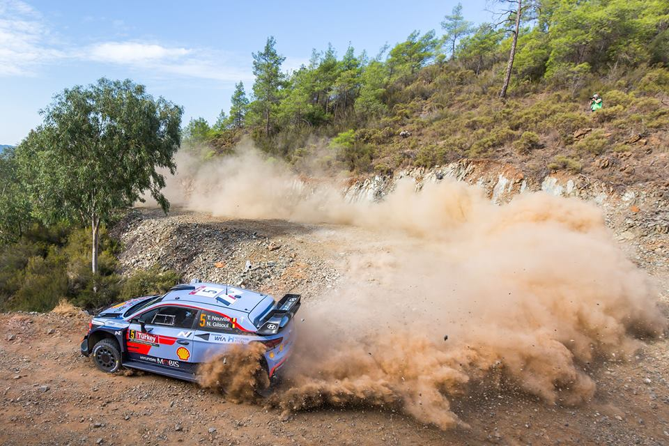 WRC 2018- 10. Rally Turkey- leg1- Επικίνδυνες ισορροπίες!