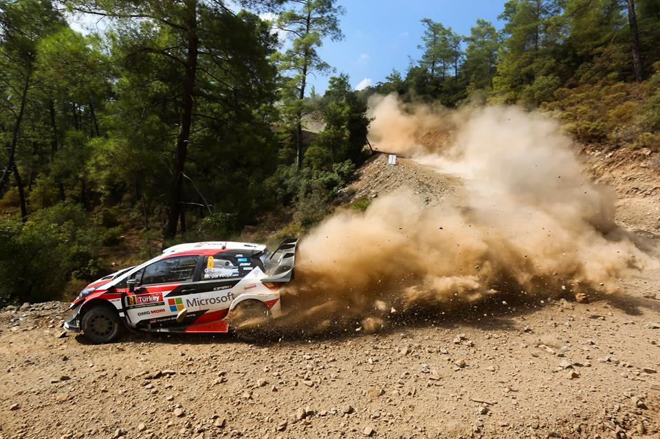 WRC 2018- 10. Rally Turkey- leg3- Σφήνα Tanak!