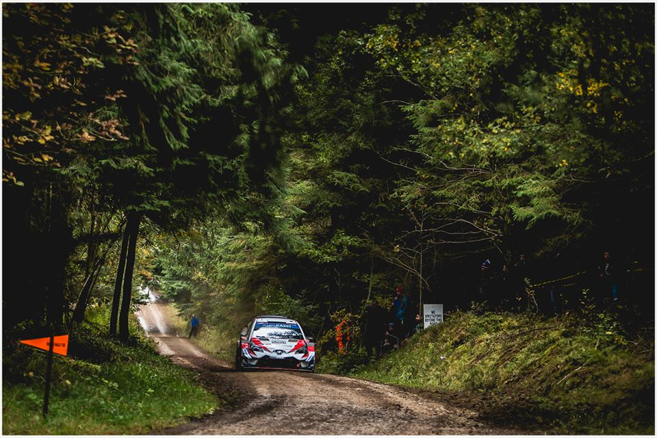 WRC 2018- 11. Rally Great Britain- leg1- O Tanak και οι άλλοι…