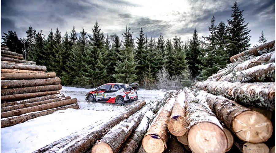 WRC 2019- 02. Rally Sweden- leg2- Δεν το χάνει ο Tanak