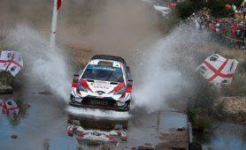 "WRC 2019- 08. Rally Sardinia- leg 2- ""Πάτησε το γκάζι και εξαφανίστηκε"" ο Tanak!"