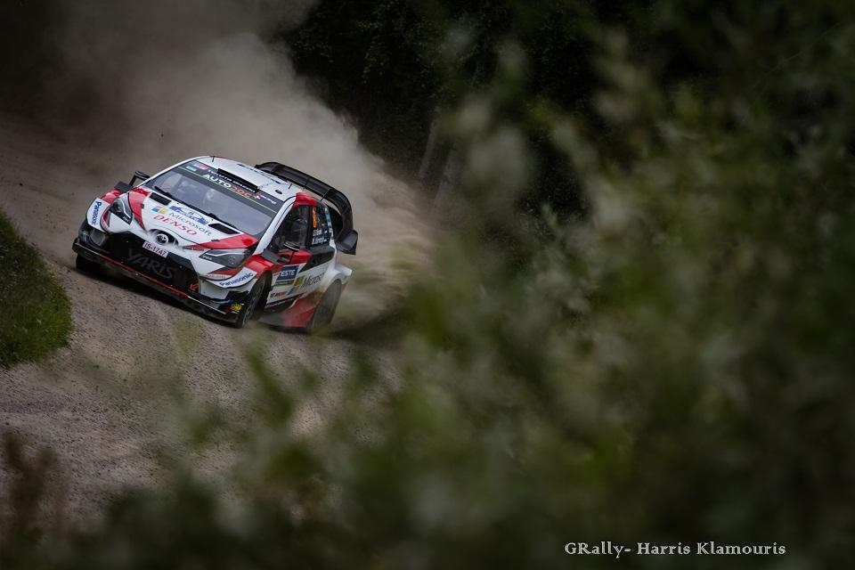 WRC 2019- 09. Rally Finland- leg3- Δέκα με τόνο στον Tanak!