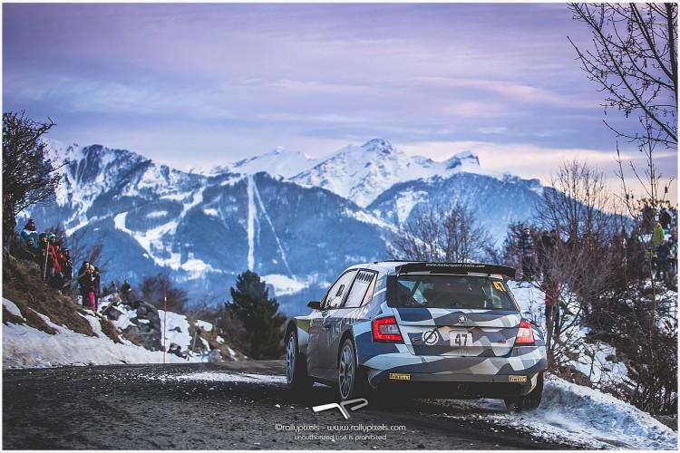 WRC 2016- 01. Rallye Monte Carlo- WRC2- leg 3- Το ελληνικό πλήρωμα στον τερματισμό του Ράλλυ Μόντε Κάρλο!