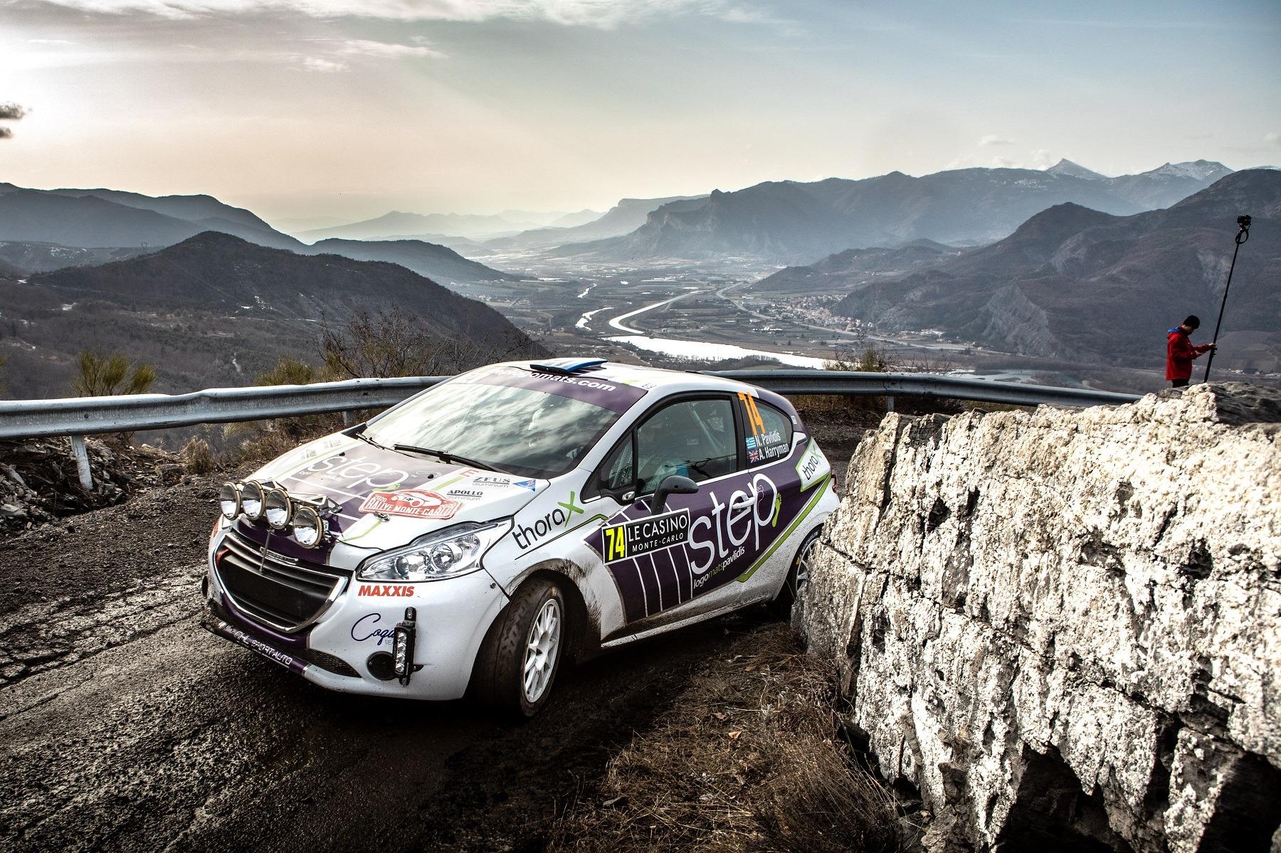 Step Racing - Rallye Monte Carlo - Day 2: Πίεσε και κέρδισε θέσεις ο Νίκος Παυλίδης την Παρασκευή!