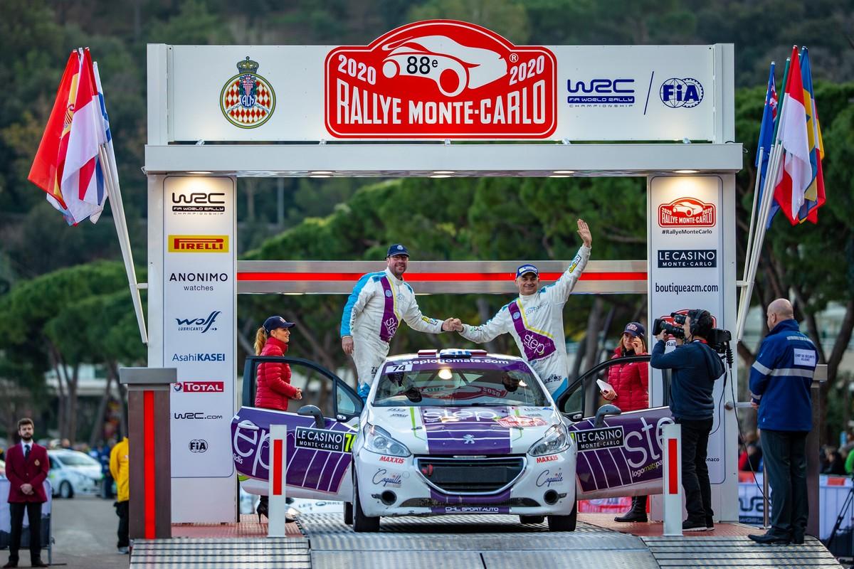 Step Racing - Rallye Monte Carlo – Day 4: Πέμπτος στην κατηγορία του ο Νίκος Παυλίδης στο Ράλλυ Μόντε Κάρλο!